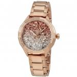 นาฬิกาผู้หญิง Diesel รุ่น DZ5539, Kween B Glitter Rose Gold-Tone