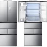 ตู้เย็น ไซด์บายไซด์ SBS 17.5 คิว Samsung RN405BRKA5K