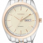 นาฬิกาผู้ชาย Citizen รุ่น NP4014-54P, Luxury Automatic Japan Sapphire Elegant 100m