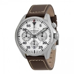 นาฬิกาผู้ชาย Hamilton รุ่น H64666555, Khaki Aviation Pilot Chronograph Automatic