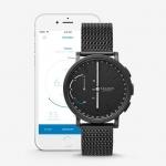 นาฬิกาผู้ชาย Skagen รุ่น SKT1109, Hagen Connected Hybrid Smartwatch Black Steel Mesh Men's Watch
