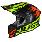 Just1 J12 Dominator Neon Lime/Red