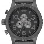 นาฬิกาผู้ชาย Nixon รุ่น A083632, 51-30 CHRONO Gunmetal Grey