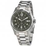 นาฬิกาผู้ชาย Hamilton รุ่น H70595163, Khaki Field Automatic