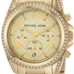 นาฬิกาผู้หญิง Michael Kors รุ่น MK5166, Blair Chronograph Gold Tone Watch