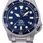 นาฬิกาผู้ชาย Orient รุ่น RA-EL0002L00B, Scuba Diver's 200M Automatic Mechanical Power Reserve