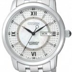 นาฬิกาข้อมือผู้ชาย Citizen Automatic รุ่น NH8300-57A, Automatic Sapphire Elegant Japan