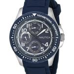นาฬิกาผู้ชาย Nautica รุ่น A13686G, Multifunction Quartz Blue Dial