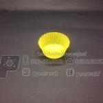 กระทงจีบ สีเหลือง 2518 แพคละ 600 ใบ