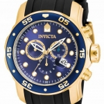 นาฬิกาผู้ชาย Invicta รุ่น INV17882 , Pro Diver Blue Dial Chronograph Men's Watch