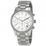 นาฬิกาผู้หญิง Michael Kors รุ่น MK6428, Ritz Chronograph Diamond Women's Watch