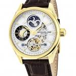 นาฬิกาผู้ชาย Stuhrling Original รุ่น 657.03, Special Reserve 657 Automatic Dual Time AM PM Indicator