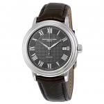 นาฬิกาผู้ชาย Raymond Weil Geneve รุ่น 2837-STC-00609, Maestro Automatic Leather Strap Men's Watch