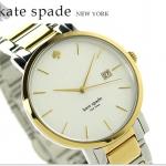 นาฬิกาผู้หญิง Kate Spade รุ่น 1YRU0108, New York Gramercy Quartz Two Tone