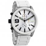 นาฬิกาผู้ชาย Diesel รุ่น DZ4449, Rasp Silver Chronograph