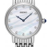 นาฬิกาผู้หญิง Seiko รุ่น SFQ807P1, Swarovski Quartz Women's Watch