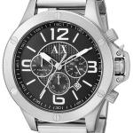 นาฬิกาผู้ชาย Armani Exchange รุ่น AX1501, Quartz Chronograph Black Dial
