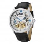 นาฬิกาผู้ชาย Stuhrling Original รุ่น 571.33152, Tempest II Automatic Skeleton Dual Time