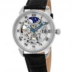 นาฬิกาผู้ชาย Stuhrling Original รุ่น 835.01, Special Reserve Automatic Skeleton Leather Men's Watch