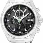 นาฬิกาข้อมือผู้ชาย Citizen Eco-Drive รุ่น CA0190-56E, Super Titanium 100m Sapphire Chronograph Watch