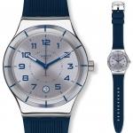 นาฬิกาผู้ชาย Swatch รุ่น YIS409, Irony Sistem Navy Automatic Men's Watch