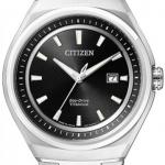 นาฬิกาข้อมือผู้ชาย Citizen Eco-Drive รุ่น AW1250-53E, Sapphire Super Titanium 100m