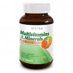 Vistra Multivitamins & Minerals Plus Amino Acid วิสทร้า มัลติวิตามิน และ แร่ธาตุผสม