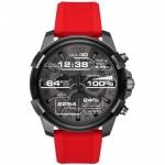 นาฬิกาผู้ชาย Diesel รุ่น DZT2006, Diesel On Full Guard Touchscreen Smartwatch Gunmetal Silicone Strap Men's Watch