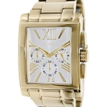 นาฬิกาผู้ชาย Guess Model U0009G2, Chronograph Gold Tone Stainless Steel Quartz