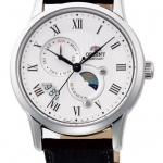 นาฬิกาผู้ชาย Orient รุ่น SAK00002S, Sun & Moon Automatic Japan