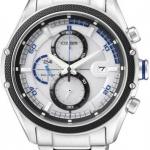 นาฬิกาข้อมือผู้ชาย Citizen Eco-Drive รุ่น CA0120-51A, 100m Sports Chronograph Watch