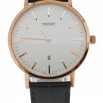 นาฬิกาผู้ชาย Orient รุ่น SGW05002W0, Quartz Classic Japan Rose Gold Elegant