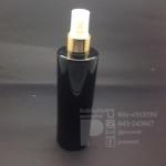 ขวด SA 250 ml สีดำ+สเปรย์ทอง 10 ชิ้น