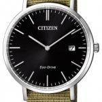 นาฬิกาผู้ชาย Citizen Eco-Drive รุ่น AU1080-38E, Sapphire Nylon Strap