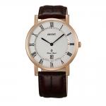นาฬิกาผู้ชาย Orient รุ่น SGW0100EW0, Quartz Leather Strap Men's Watch