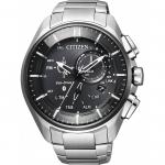 นาฬิกาผู้ชาย Citizen Eco-Drive รุ่น BZ1041-57E, Bluetooth Super Titanium Men's Watch