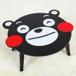 โต๊ะญี่ปุ่น ลายคุมะ Kuma-mon Wooden Foldable Kids Table