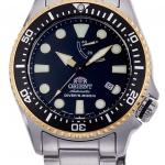 นาฬิกาผู้ชาย Orient รุ่น RA-EL0003B00B, Scuba Diver's 200M Automatic Mechanical Power Reserve