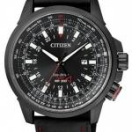 นาฬิกาข้อมือผู้ชาย Citizen Eco-Drive รุ่น BJ7076-00E, GMT Japan Pilots