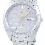 นาฬิกาผู้ชาย Orient รุ่น FAB0000DK9, Orient 3 Star Crystal Automatic Men's Watch