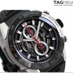นาฬิกาผู้ชาย Tag Heuer รุ่น CAR2A1Z.FT6044, Carrera Calibre Heuer01 Automatic Chronograph 100 M - ∅45 Mm Men's Watch