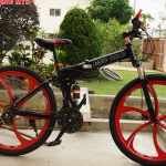 จักรยานเสือภูเขาพับได้ ล้อแม็ค CSC BIKE, 21 สปีด เฟรมเหล็ก