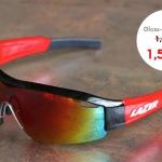 SS1 - Gloss Black Red - แว่นตาจักรยาน LAZER