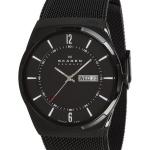 นาฬิกาผู้ชาย Skagen รุ่น SKW6006, Melbye Black Titanium Men's Watch