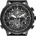 นาฬิกาผู้ชาย Citizen รุ่น JY8037-50E, Navihawk AT Eco-Drive Pilot Radio Controlled Black