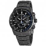 นาฬิกาผู้ชาย Citizen Eco-Drive รุ่น AT4127-52H, PCAT Chronograph Charcoal Perpetual Calendar