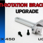 Metal Anti-Rotation Bracket for T-Rex450 sport ,SE V2