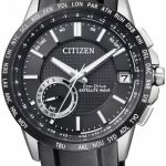 นาฬิกาผู้ชาย Citizen Eco-Drive รุ่น CC3007-04E, Satellite Wave F150 World Time GPS