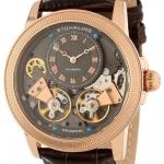 นาฬิกาผู้ชาย Stuhrling Original รุ่น 368B.3345K54, Gemini II Automatic Skeletonized Dial