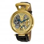 นาฬิกาผู้ชาย Stuhrling Original รุ่น 127A2.333519, Emperor Grand Dual Time Automatic Moon Display Men's Watch